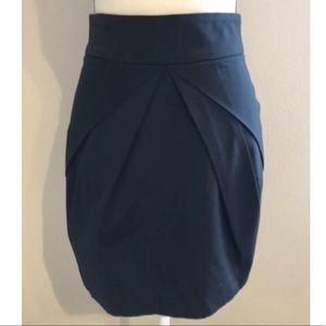 Womens Black Bebe Pencil Straight Skirt Size 6